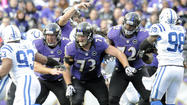 It took the Ravens the entire season, but now they have the right players starting on the offensive line.