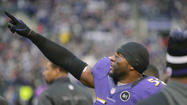 A timeline of Ray Lewis' last game at M&T Bank Stadium
