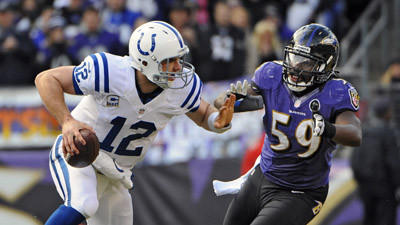 Ravens linebacker Dannell Ellerbe downplays sprained right ankl…