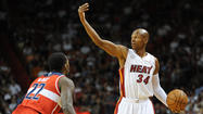 Ray Allen talks about upcoming road trip