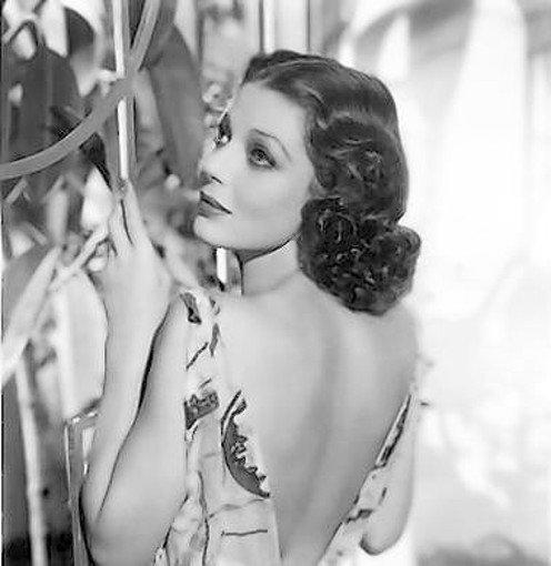 "Loretta Young, in a shot from 1936's ""Ladies in Love,"" was ""ethereally beautiful,"" says her daughter-in-law Linda Lewis."