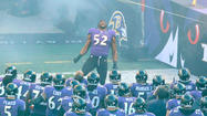Sights & sounds from Ray Lewis last home game