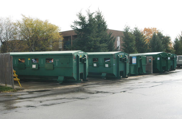 Charlevoix County's recycling drop-off site in Charlevoix.