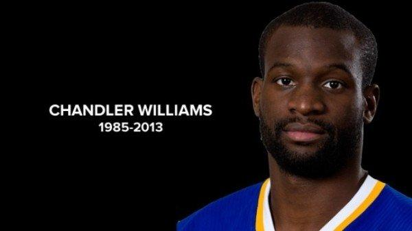 Chandler Williams, in a photo illustration supplied by the Arena Football League, died playing in a flag football tournament.