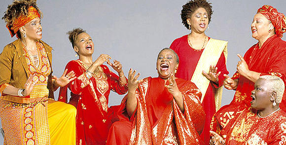 Sweet Honey in the Rock is set to sing in Williamsburg.