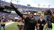 Ray Lewis and his Psalms 91 shirt
