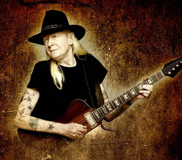Johnny Winter and his band play at Toad's Place and Ridgefield Playhouse.