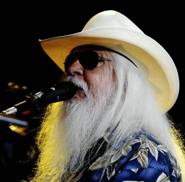 Singer/songwriter Leon Russell performs at the Klein in Bridgeport Jan. 11 and Infinity Music Hall in Norfolk Jan. 14.
