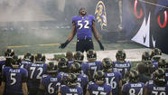 1. Ray Lewis and the city of Baltimore still have a lot of love left to give each other.