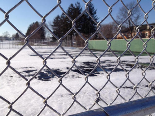 Making the new tennis courts at Newington High School kid friendly has earned the town a $20,000 grant.