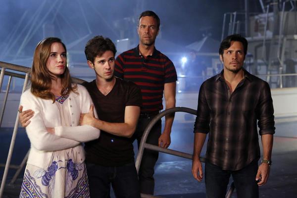 Christa B. Allen, Connor Paolo, JR Bourne, Nick Wechsler.