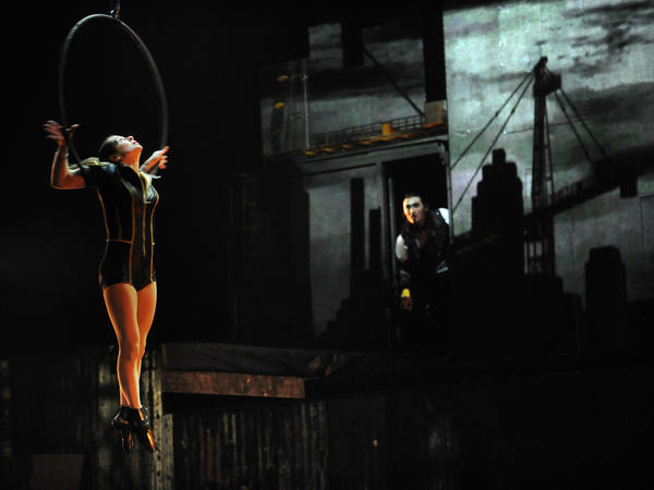 """Cirque Eloize iD"" at the Lyric on Jan. 5-6, 2013."