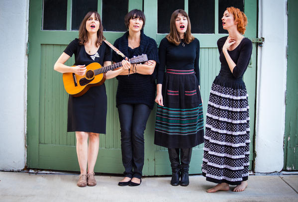 "The Living Sisters' new EP, ""Run for Cover,"" is set to be released Tuesday."