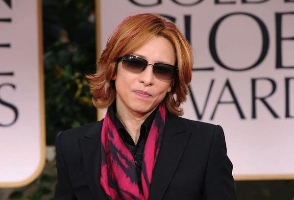 Yoshiki, who composed this year's theme to the Golden Globes.