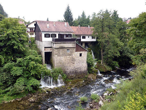 "During a trip to Croatia and Slovenia, Pat Henderson of Orlando captured this photo of a waterfall coming through a home. This home is located in Slunj, a town in the mountainous part of Central Croatia between Karlovac and Plitvice Lakes National Park where the rivers Korana and Slunjcica meet. ""The tour continued to nearby Plitvi"