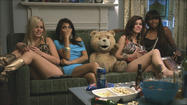 "With no major new releases in the final days of 2012, ""Ted"" stayed on top of the DVD sales chart for the third week in a row."