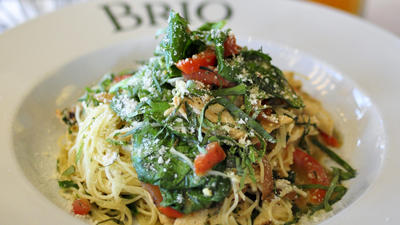 Brio Tuscan Grille introduces light menu