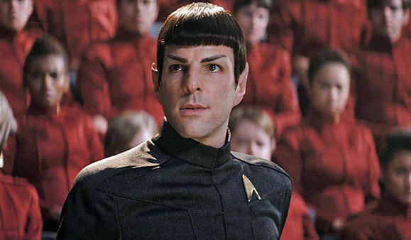 "Zachary Quinto in ""Star Trek."""