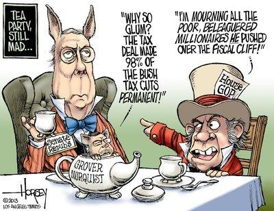 The tea party is still mad