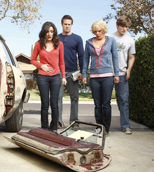 "<i>Returns:</i> 8 p.m. Tuesday, Jan. 8 <br><br> The show pays homage to ""Back to the Future"" with an episode guest-starring Christopher Lloyd (and a DeLorean), and Jimmy (Lucas Neff) starts volunteering for medical tests so he can afford an engagement ring for Sabrina (Shannon Woodward). Later on in the season, look for a ""Yes, Dear"" reunion when Mike O'Malley and Liza Snyder guest-star. (""Hope"" creator Greg Garcia also co-created ""Yes, Dear."")"