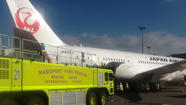 Fire discovered on Boeing Dreamliner minutes after flight lands