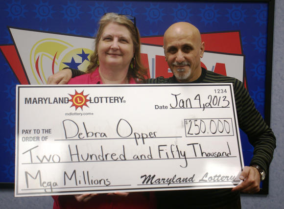 Maryland newlyweds win lottery