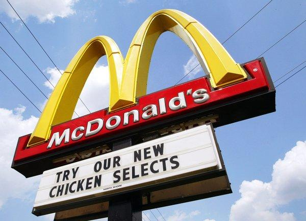 McDonald's may introduce chicken wings to its menu.