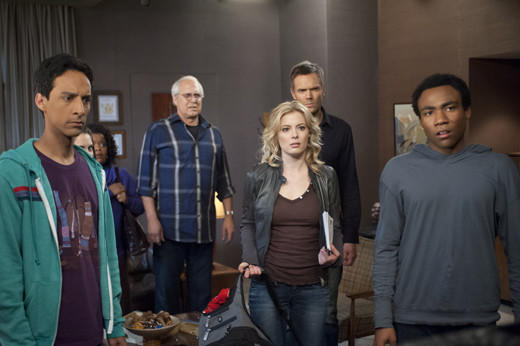 Midseason TV 2013: What to expect when your favorite shows return: Returns 8 p.m., Thursday, Feb. 7  Its been a long time since season 3 ended with Jeff winning a Shirley/Pierce lawsuit in such a way that everyone learned the value of friendship (and of not chopping off hands). When season 4 finally begins, it will be a new school year with new classes (History 101). Also, there will apparently be men dressed like unicorns.