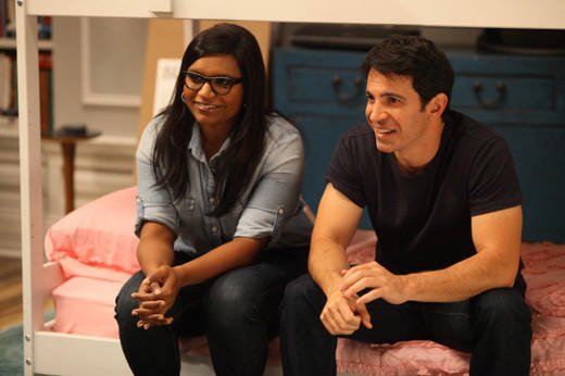 "<i>Returns 9:30 p.m., Tuesday, Jan. 8</i> <br></br> Mindy (Mindy Kaling) readjusts to single life after her break-up with Josh, and the show prepares for <a href=""http://blog.zap2it.com/frominsidethebox/2012/12/mindy-project-cast-changes-beth-grant-back-in-stephen-tobolowsky-still-out.html"">cast changes</a>."