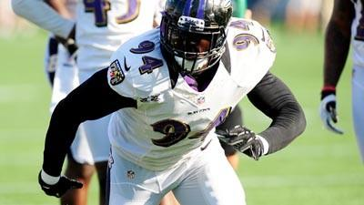 Ravens cut outside linebacker Sergio Kindle from practice squad