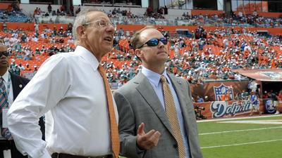 Reading between Dolphins owner Steve Ross' lines