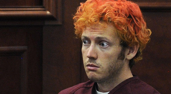 Theater shooting suspect James Holmes