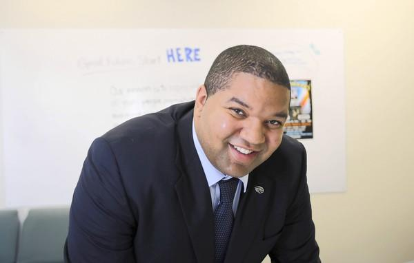 Freddy Williams, pictured here in his office on Thursday, December 20, is the new executive director of the Boys and Girls Clubs of Lake and Sumter Counties.
