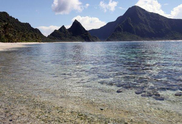 Stanford researchers have found this back-reef lagoon in American Samoa to be a natural laboratory that produces heat-tolerant corals.