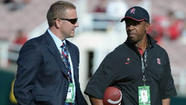 "Virginia Tech coach Frank Beamer was scheduled to meet with Stanford's Pep Hamilton on Monday about becoming the Hokies' offensive coordinator, a source confirmed. <a href=""https://twitter.com/BFeldmanCBS"">Bruce Feldman of CBSSports.com</a> first tweeted the news."