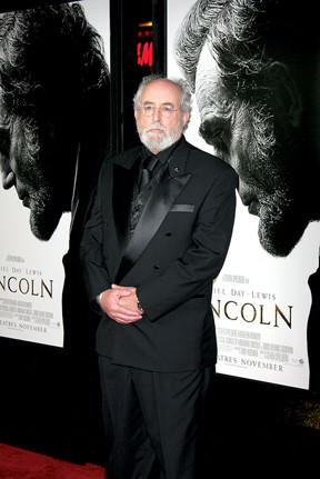 Christopher Boyer is shown at the premiere of 'Lincoln,' in which he played Gen. Robert E. Lee.