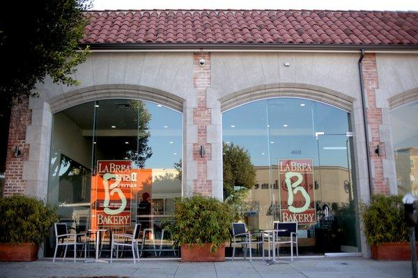 La Brea Bakery is open in the Rita Flora building on La Brea Avenue.