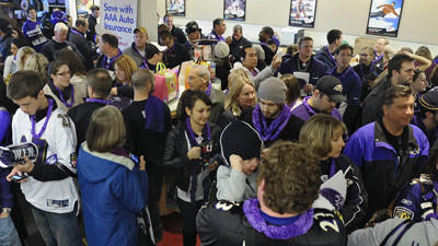 Some Ravens fans booked for Denver trip while others contemplat…