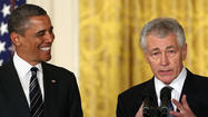 It's official. President Obama has named former Sen. Chuck Hagel (R-Neb.) as his nominee for secretary of Defense. Hence, we may be in store for the worst Defense secretary nomination fight since George H.W. Bush's failed appointment of Sen. John Tower (R-Texas) more than 20 years ago.