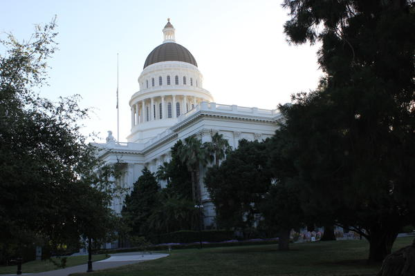 California's Capitol building in Sacramento