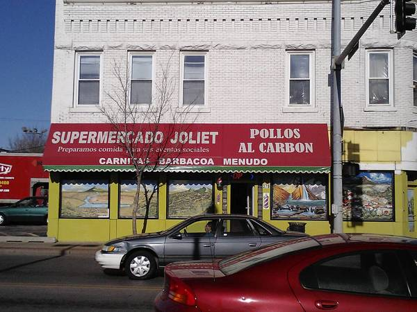 Joliet police and federal authorities allege that cocaine and heroin were sold out of the Supermercado at Collins and Cass streets in Joliet.