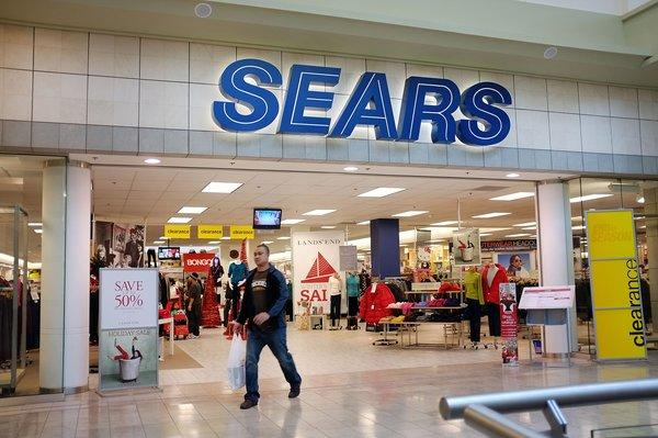 Sears' chairman, Edward Lampert, will be taking over as chief executive as CEO Louis D'Ambrosio steps down. Above, a Sears store.