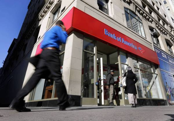 The Bank of America settlement ends a bitter standoff between BofA, once the largest seller of home loans, and Fannie Mae, the nation's largest mortgage buyer. Above, a branch in New York.