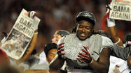 <b>Photos:</b> Alabama 42, Notre Dame 14