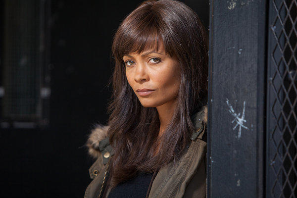 "Thandie Newton stars in the Audience Network drama ""Rogue."""