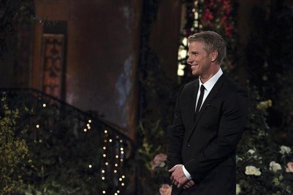"Sean Lowe awaits his potential future wife on ""The Bachelor."""