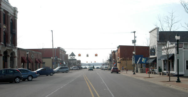 Lake Street is one section of Boyne City's central historic district, which was recently placed on the National Register of Historic Places.
