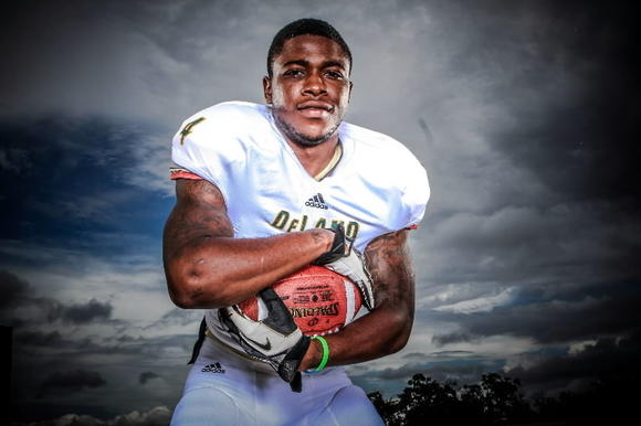 JoJo Kemp, DeLand, running back, photo
