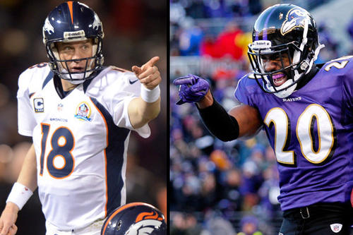 Peyton Manning and the Broncos will face Ed Reed and the Ravens in temperatures not expected to rise above 20 degrees Saturday in Denver.