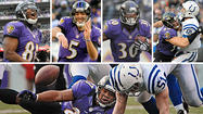 <strong>Bob in Ellicott City: Joe Flacco was on in Sunday's playoff game and showed mobility and pocket awareness not always evident. I am, however, puzzled as to why you never see Flacco doing his homework on the sidelines. All the other great quarterbacks are pouring over pictures, interpreting game schematics or talking things over with their team members or offensive coordinators. Joe is always just sitting on the bench! What am I missing?</strong>